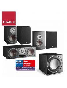 DALI Oberon 3+Oberon Vokal+Oberon ON-WALL+SUB E-9 F