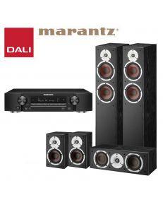 DALI Spektor 6+DALI Spektor 1+DALI Spektor VOKAL+Marantz NR1510