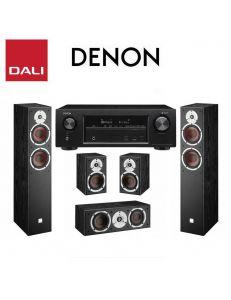 DALI Spektor 6+Spektor VOKAL+Spektor 1+Denon AVR-X550BT