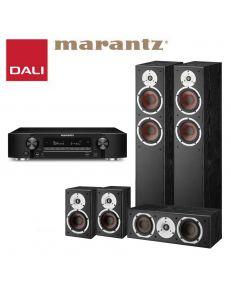 DALI Spektor 6+DALI Spektor 2+DALI Spektor VOKAL+Marantz NR1710