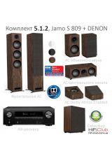 Jamo S809+Denon AVR-X1600H