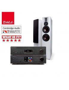Dali Rubicon 6+Cambridge Audio 851A+851N