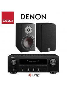 DALI Oberon 3+Denon DRA-800H