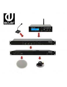 Ecler eSAM402+eHSA2-150 до 250m2