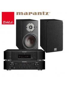 Marantz CD5005+Marantz PM5005+DALI Oberon 3