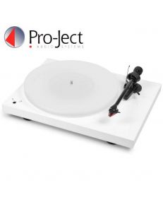 Pro-Ject DEBUT III DC Esprit White 2M Red