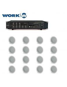 Work Pro РА 60 USB/R+Work Pro IC 60 T